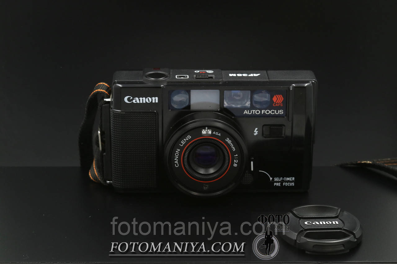 Canon AF35M  Canon 38mm f2.8 lens