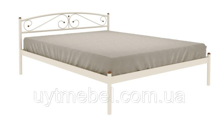 Ліжко VERONA-1 1600х1900 білий (МЕТАКАМ)
