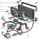 Автозапчасти отопления и охлаждения