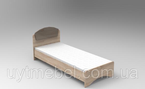 Ліжко Дакота 800 венге+дуб молочний (Просто Меблі)