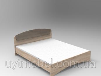 Ліжко Дакота 1200 сонома+сонома трюфель (Просто Меблі)