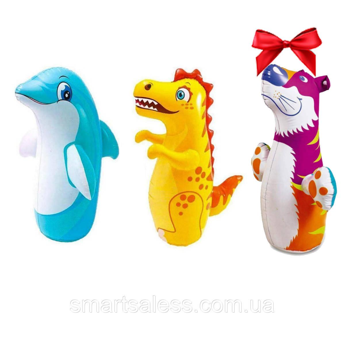 Надувний набір 3 в 1 іграшка - неваляшка Intex 44100