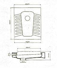 Чаша 'Генуя' 60х48 (Днепрокерамика) Б/р, в коробке