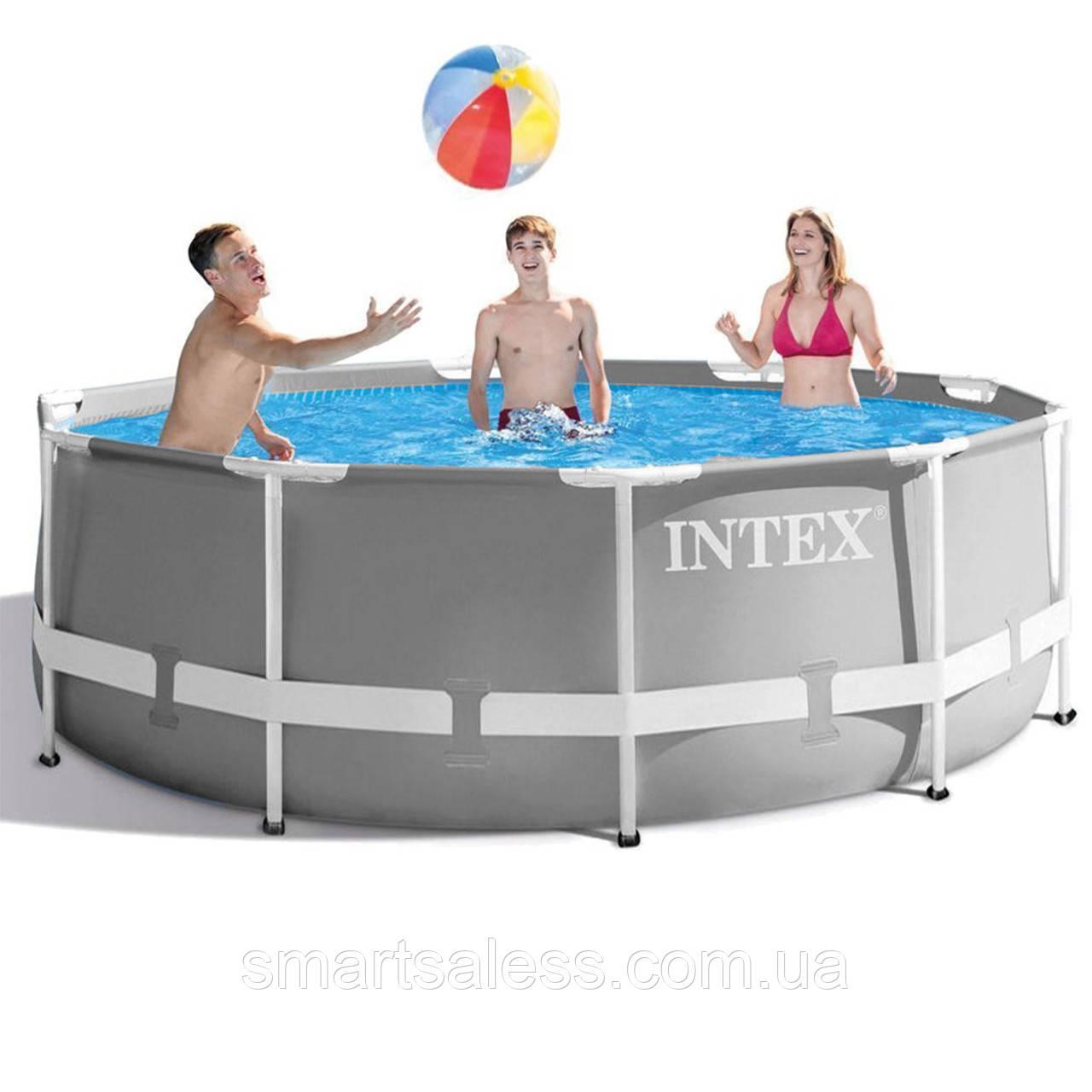 Каркасний басейн Intex, 305 x 99 см, чаша + каркас