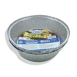 Алюминиевый контейнер круглый Т-546I d205mmh57mm уп/5штук