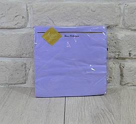 Салфетка (ЗЗхЗЗ, 20шт) Luxy Фиолетовая (1 пач)