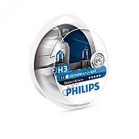 Лампа галогенна Philips H3 Diamond Vision 5000K, 2шт/блістер 12336DVS2