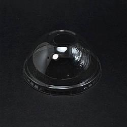 Крышка полусфера с отверстием РЕТ Ø 92мм уп/50 штук