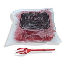 Качани щільні пластикові 100 шт Червоні Юніта