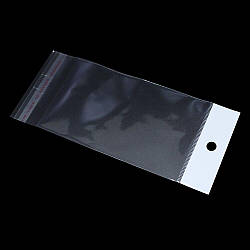 Пакети з липкою стрічкою і европодвесом 9см 36,5 см 25мк (1000 шт)