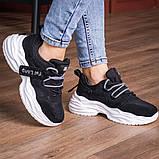 Кросівки жіночі 41 розмір 25,5 см Чорні, фото 2