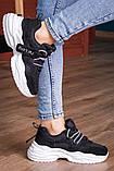 Кросівки жіночі 41 розмір 25,5 см Чорні, фото 4