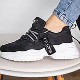 Кросівки жіночі 41 розмір 25,5 см Чорні, фото 6