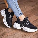 Кросівки жіночі 41 розмір 25,5 см Чорні, фото 7