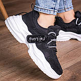Кросівки жіночі 41 розмір 25,5 см Чорні, фото 8