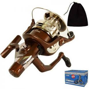 Котушка рибальська для вудки, спінінга безінерційна Cobra New 5000 3В