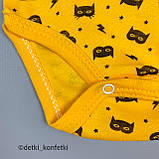 Боди без рук Жёлтый Интерлок 0180 Nayinom Турция 56(р), фото 3
