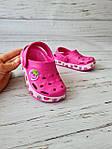 Детские кроксы/сабо/пляжная обувь для детей Dago 24-25р, 15.5см