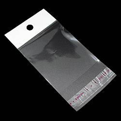 Пакети з липкою стрічкою і европодвесом 6см 10,5 см 25мк (1000 шт)
