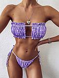 Жіночий модний купальник роздільний, фото 6