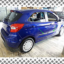Молдинги на двері Ford Ka III 2017+
