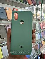 Чехол Silicone Case full для Xiaomi Mi A2 / Mi 6X green