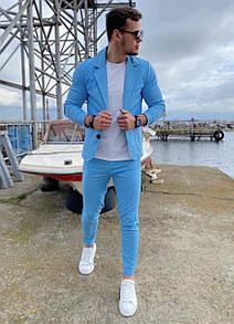 Классический мужской костюм Blue Sky