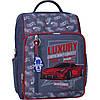 Рюкзак школьный для мальчика  младших классов 8 л. Stars школьный рюкзак с ортопедической спинкой,принт машина