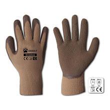 Перчатки защитные GRIZZLY латекс, размер 9,  RWG9