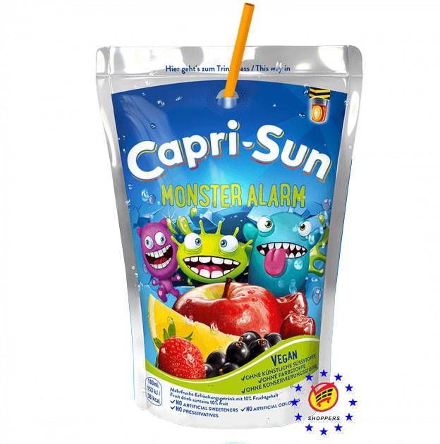 Сок капризон Capri-Sun Monster Alert 200мл