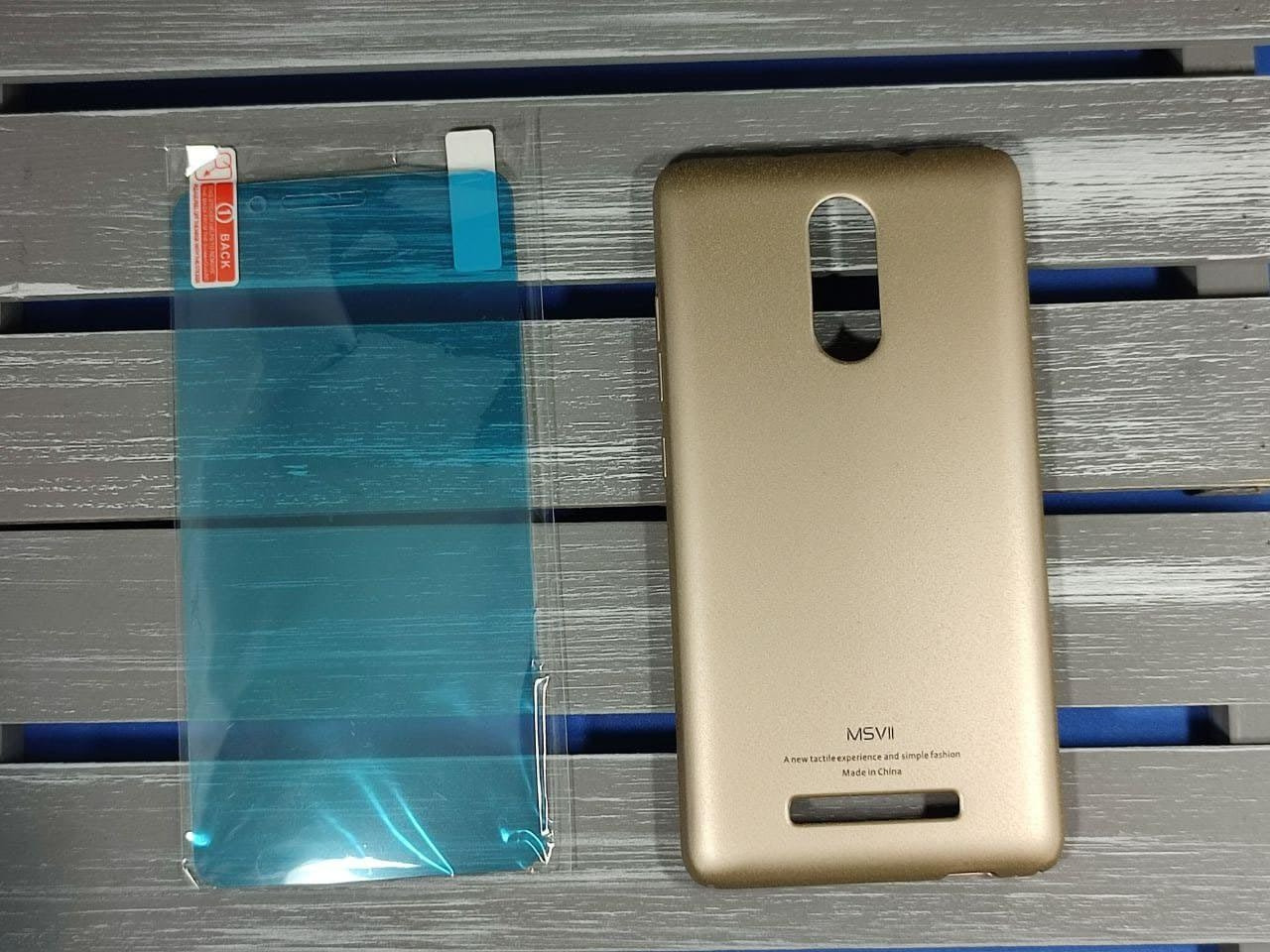 Чехол Redmi Note 3/3Pro + защитная плёнка в подарок