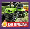 Трактор педальный с прицепом  / Трактор на педалях / Педальный трактор зеленый Biberlogu 2005