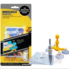 Полный набор для ремонта лобового стекла Sunroz Windshield Repair Kit