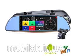 Автомобильный видеорегистратор зеркало DVR FULL HD D35