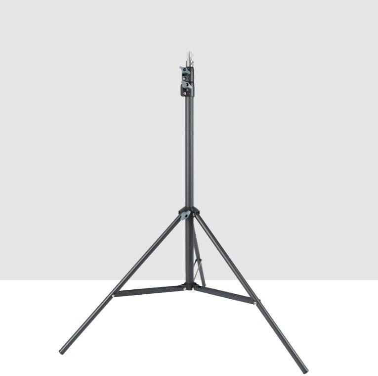 Стійка-штатив для кільцевої лампи та фото аксесуарів (металевий посиленої міцності) 2 метри TS-200