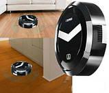 Розумний робот-пилосос Ximei Smart Robot 14+ Quiet на акумуляторі Black, фото 2