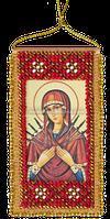 Набор для вышивки бисером Молитва о сохранении дома (украинский текст молитвы)