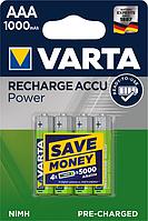 Аккумуляторы Varta AAA 1000mAh