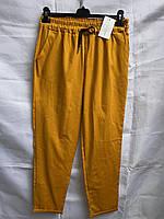 """Штани жіночі, літні, яскраві на резинці, розміри батал 48-54 (7цв) """"EXCLUSIVE"""" недорого від прямого постачальника"""