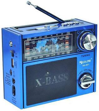 Радіоприймач Golon RX 201 Синій (200848)