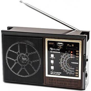 Портативний радіоприймач GOLON RX 9922 Чорний (300738)