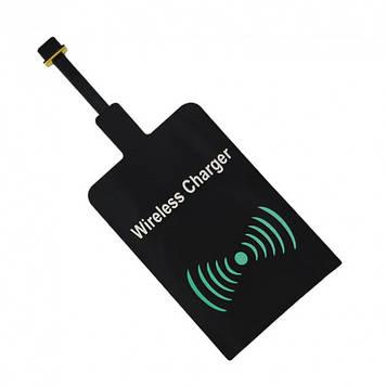 Приймач для бездротової зарядки Wireless QI microUSB AR 70