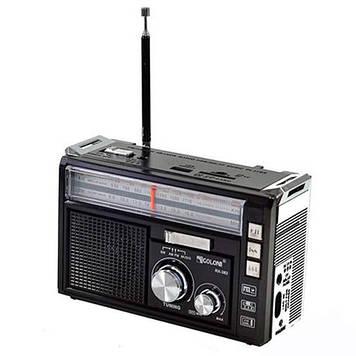 Радіоприймач GOLON з блютозом RX-382BT USB+SD Чорний