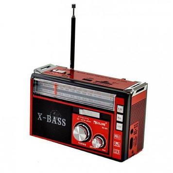Радіоприймач GOLON RX-381 USB+SD багатофункціональний Червоний
