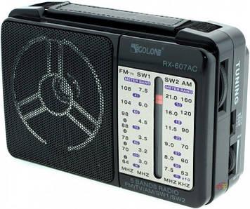 Радіоприймач GOLON RX-607 Чорний