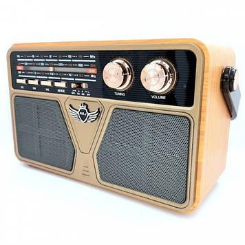 Радіоприймач з блютузом Kemai MD-507 Золотий