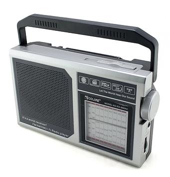 Радіоприймач GOLON RX-888 Сірий