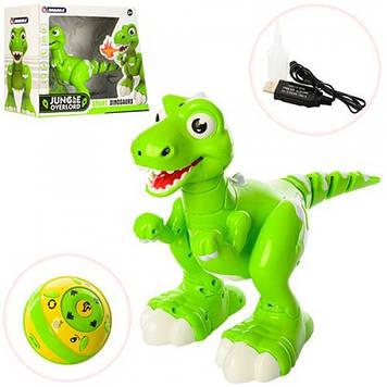 Динозавр на радіокеруванні Jirbaile 908A зелений