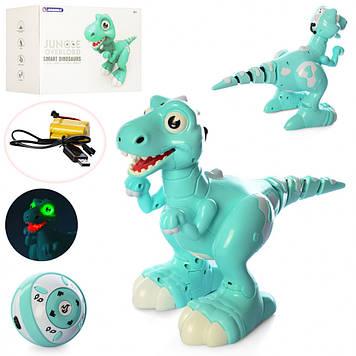 Динозавр на радиоуправлении Jirbaile 908B бирюзовый