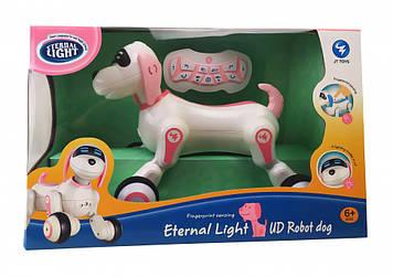 Інтерактивна собака на радіокеруванні Joy Toys JT397 рожевий